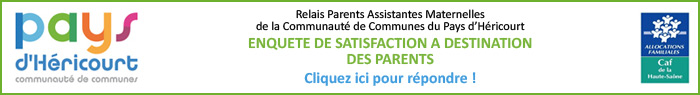 Enquête de satisfaction à destination des parents